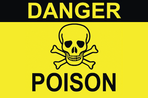 Is there poison in your food?